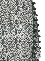 'Ira' tribal print cotton-silk cover-up