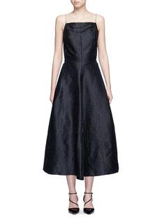LANVINWoodgrain effect jacquard dress