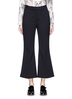 Stella McCartney 'Angela' wool cropped flared pants