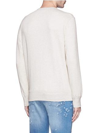Back View - Click To Enlarge - Alexander McQueen - Skull embroidery sweatshirt