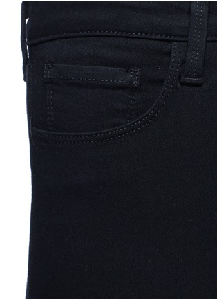 Detail View - Click To Enlarge - L'Agence - 'Claudine' cropped skinny pants