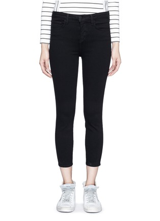 Main View - Click To Enlarge - L'Agence - 'Claudine' cropped skinny pants