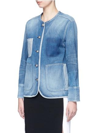 Front View - Click To Enlarge - rag & bone/JEAN - 'Santa Cruz' pocket denim jacket
