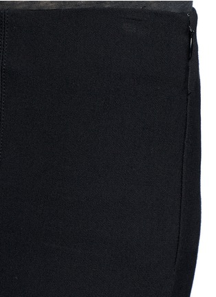 Detail View - Click To Enlarge - Vince - Slim fit cotton blend pants