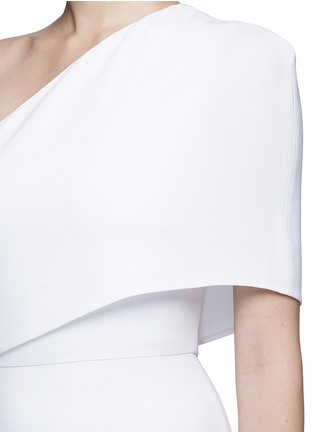 Detail View - Click To Enlarge - Stella McCartney - One shoulder cady crepe gown