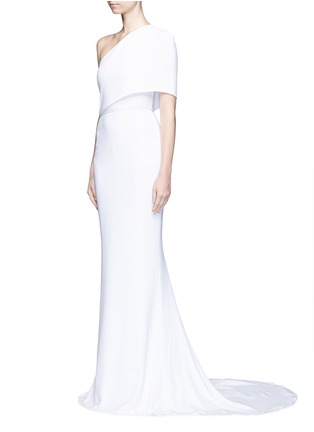 Figure View - Click To Enlarge - Stella McCartney - One shoulder cady crepe gown