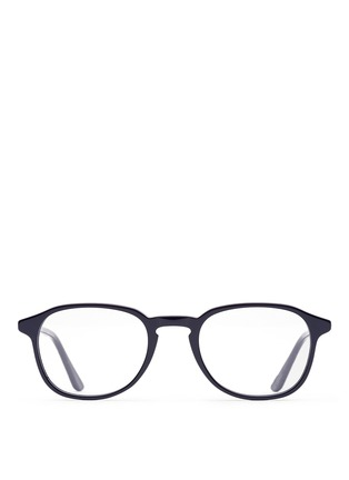 Main View - Click To Enlarge - SUPER - 'Numero 02 Zaffre' acetate optical glasses