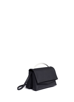 Front View - Click To Enlarge - Eddie Borgo - 'Boyd' leather vanity bag