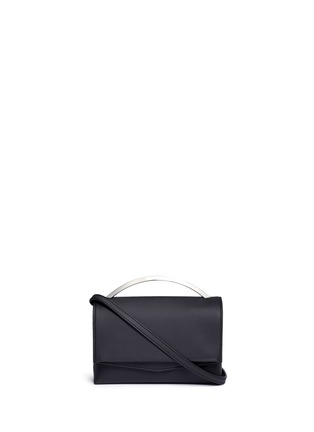Main View - Click To Enlarge - Eddie Borgo - 'Boyd' leather vanity bag
