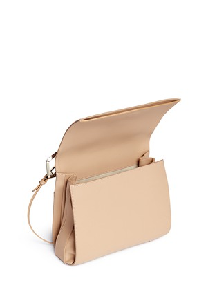 Detail View - Click To Enlarge - Eddie Borgo - 'Boyd' large leather clutch