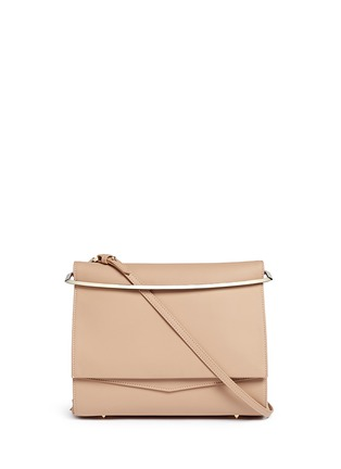 Main View - Click To Enlarge - Eddie Borgo - 'Boyd' large leather clutch