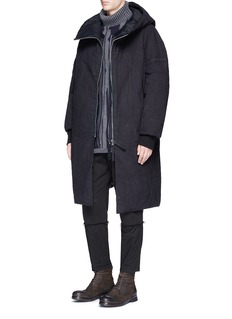 Ziggy Chen Hooded down coat