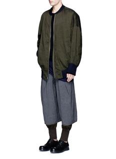 Ziggy ChenShorts overlay jersey pants