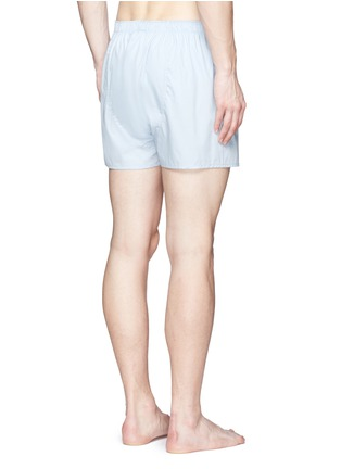 Back View - Click To Enlarge - Sunspel - 'Classic' cotton boxer shorts