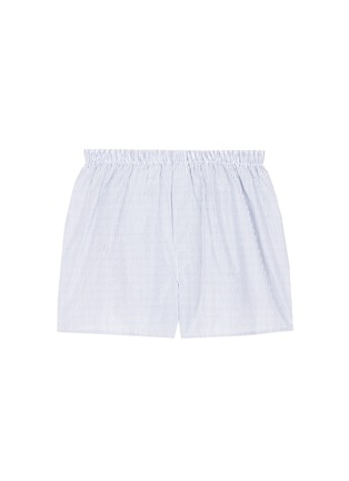 Main View - Click To Enlarge - Sunspel - 'Classic' pinstripe cotton boxer shorts