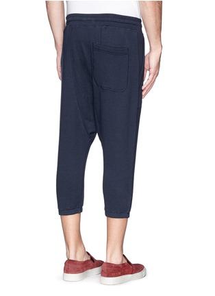 Back View - Click To Enlarge - NLST - Cotton harem shorts