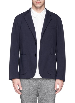 首图 - 点击放大 - NLST - Cotton jersey knit blazer