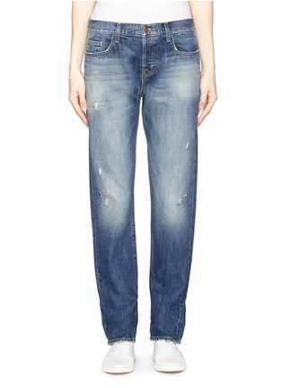 Detail View - Click To Enlarge - J Brand - 'Sonny' mid rise boyfriend jeans