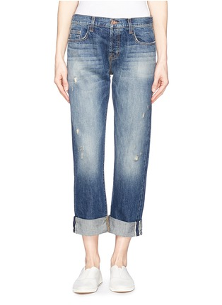 Main View - Click To Enlarge - J Brand - 'Sonny' mid rise boyfriend jeans