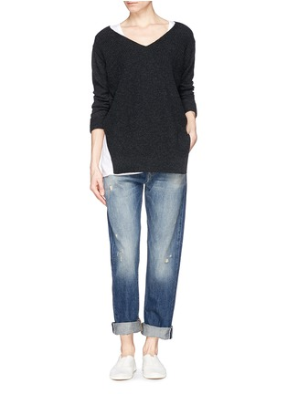 Figure View - Click To Enlarge - J Brand - 'Sonny' mid rise boyfriend jeans