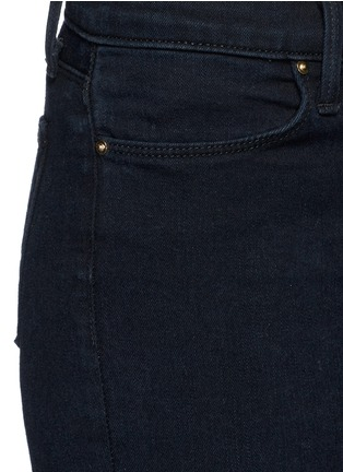 Detail View - Click To Enlarge - J Brand - 'Photo Ready' ripped knee cropped skinny jeans