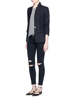 J Brand 'Photo Ready' ripped knee cropped skinny jeans