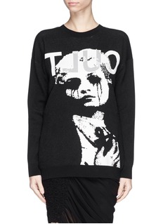 MCQ ALEXANDER MCQUEENCult jacquard sweater
