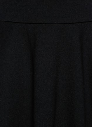Detail View - Click To Enlarge - McQ Alexander McQueen - Jersey skater skirt