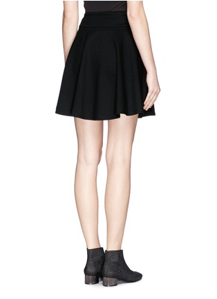 Back View - Click To Enlarge - McQ Alexander McQueen - Jersey skater skirt