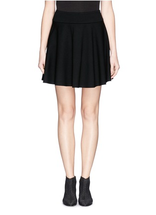 Main View - Click To Enlarge - McQ Alexander McQueen - Jersey skater skirt