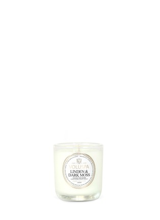Main View - Click To Enlarge - VOLUSPA - Maison Jardin Linden & Dark Moss scented votive candle