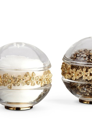Detail View - Click To Enlarge - L'Objet - Garland Salt and Pepper Shaker - Gold