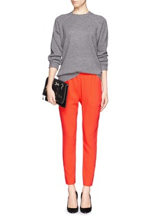 STELLA MCCARTNEY Elasticated cropped pants