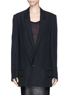 HAIDER ACKERMANN Pleat back blazer