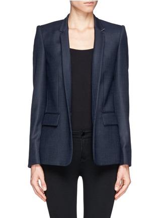 Main View - Click To Enlarge - Stella McCartney - Inverted collar blazer