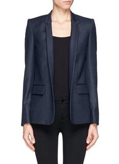 STELLA MCCARTNEYInverted collar blazer