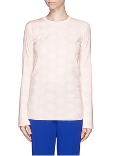 STELLA MCCARTNEY Large polka dot sweater