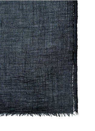 Detail View - Click To Enlarge - Franco Ferrari - Wool-cashmere scarf