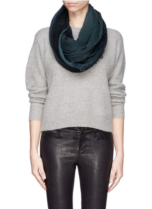 Figure View - Click To Enlarge - Franco Ferrari - Wool-cashmere scarf