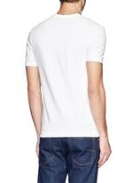 Stretch cotton-blend undershirt