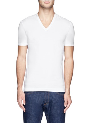 Main View - Click To Enlarge - Dolce & Gabbana - Stretch cotton-blend undershirt