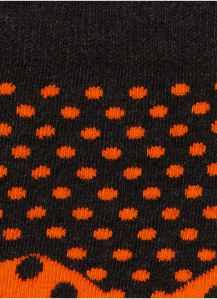 Detail View - Click To Enlarge - Happy Socks - Divided dot socks