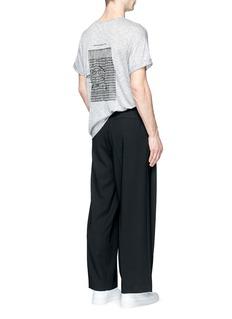 DEN IM BY SIKI IM建筑主题纯棉T恤