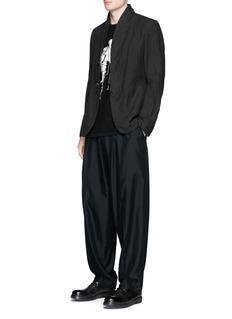 Ziggy ChenGraphic intarsia cashmere sweater