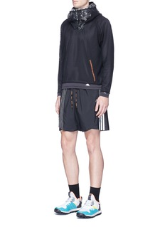Adidas X KolorMesh overlay Climachill® performance hoodie