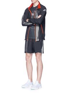 Adidas X KolorMetallic foil 3-Stripes track jacket