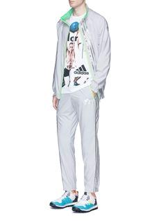 Adidas X KolorMetallic foil 3-Stripes track pants
