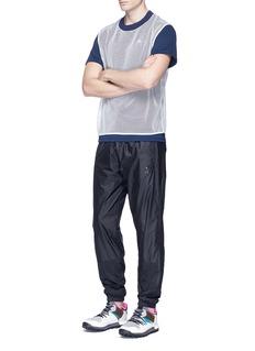 Adidas X KolorMesh overlay Climachill® performance T-shirt