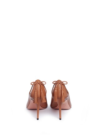 Back View - Click To Enlarge - Aquazzura - 'Forever Marilyn 85' tassel leather pumps