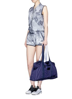 AdidasCamouflage print drawstring rompers